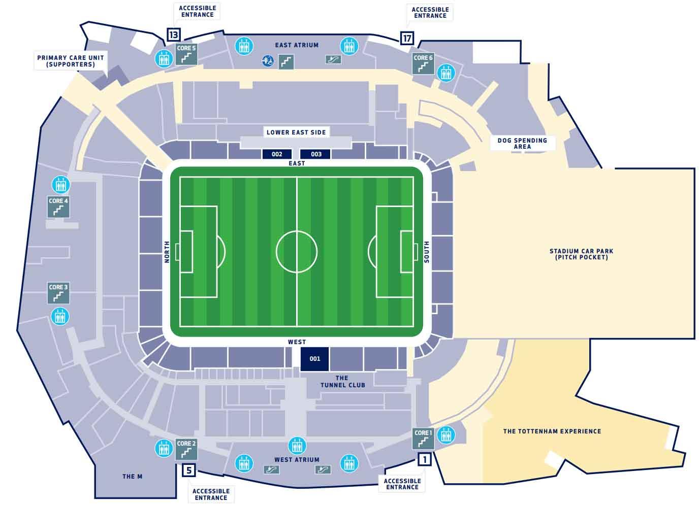 Spurs Stadium Tottenham Hotspur