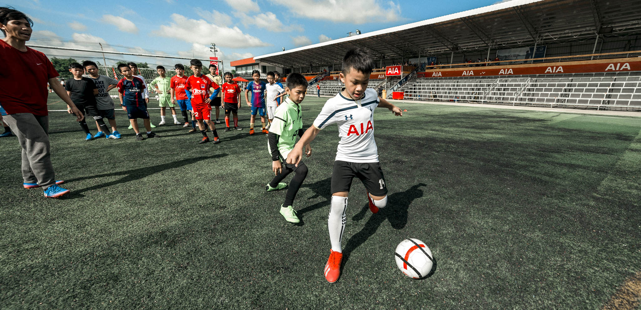 52d2b44e4 Soccer Schools & Football Development Programmes   Tottenham Hotspur