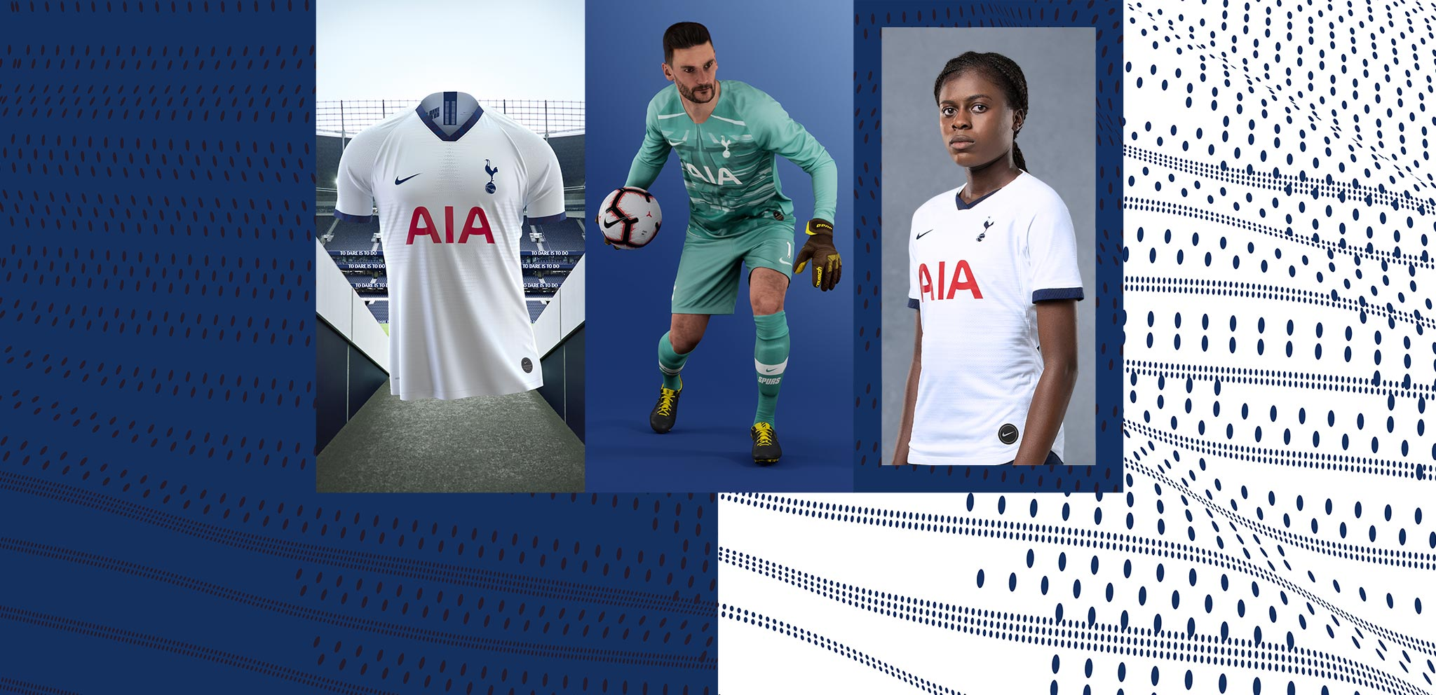 separation shoes a4383 92cd1 Home and Away kit 2019/20 | Tottenham Hotspur