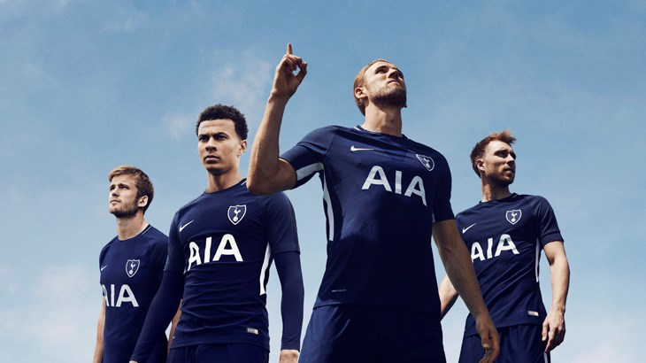 8ab8af49d A new era dawns  Nike Football outfits Tottenham Hotspur for 2017-18
