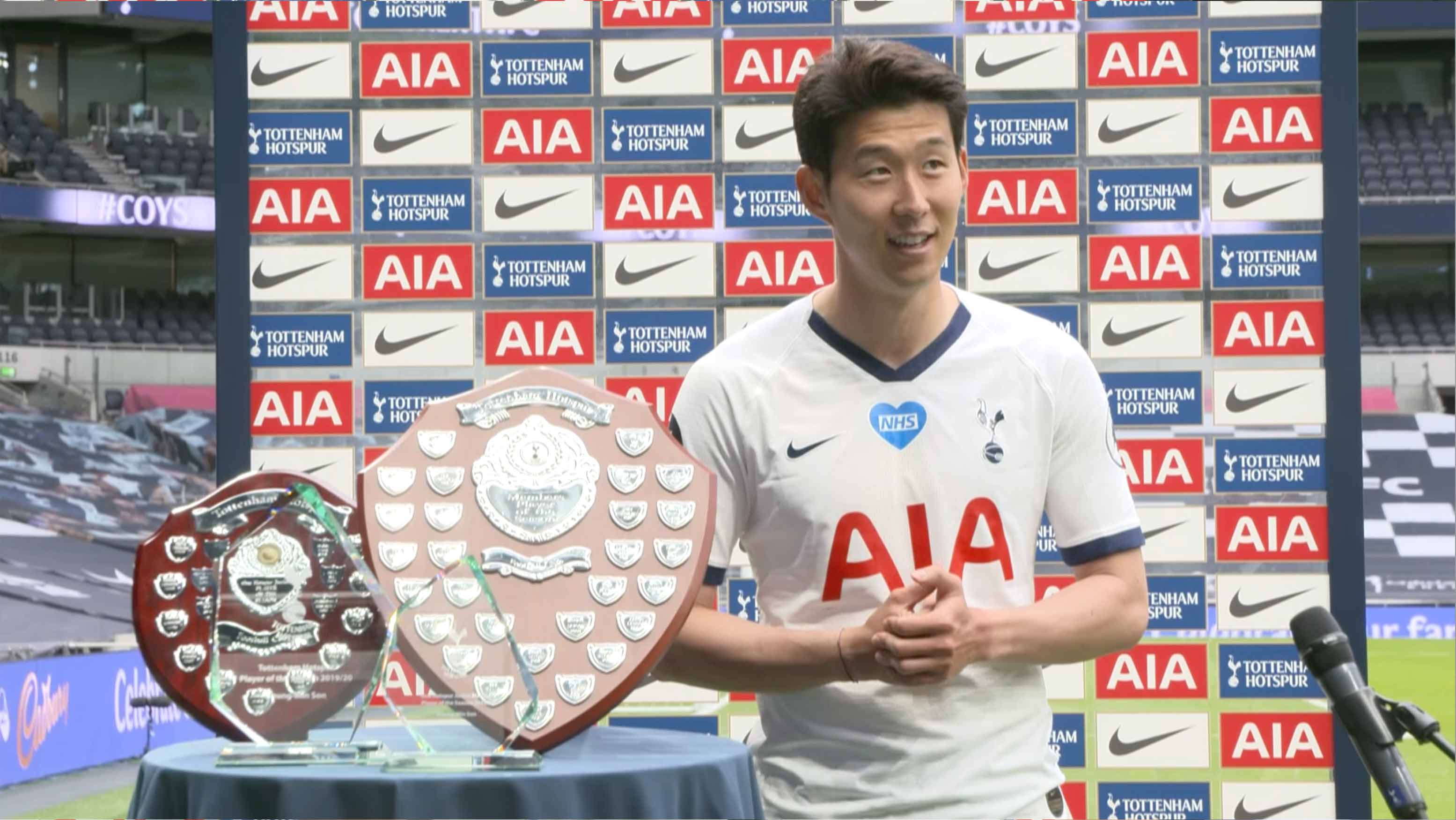 Son collects end-of-season awards | Tottenham Hotspur