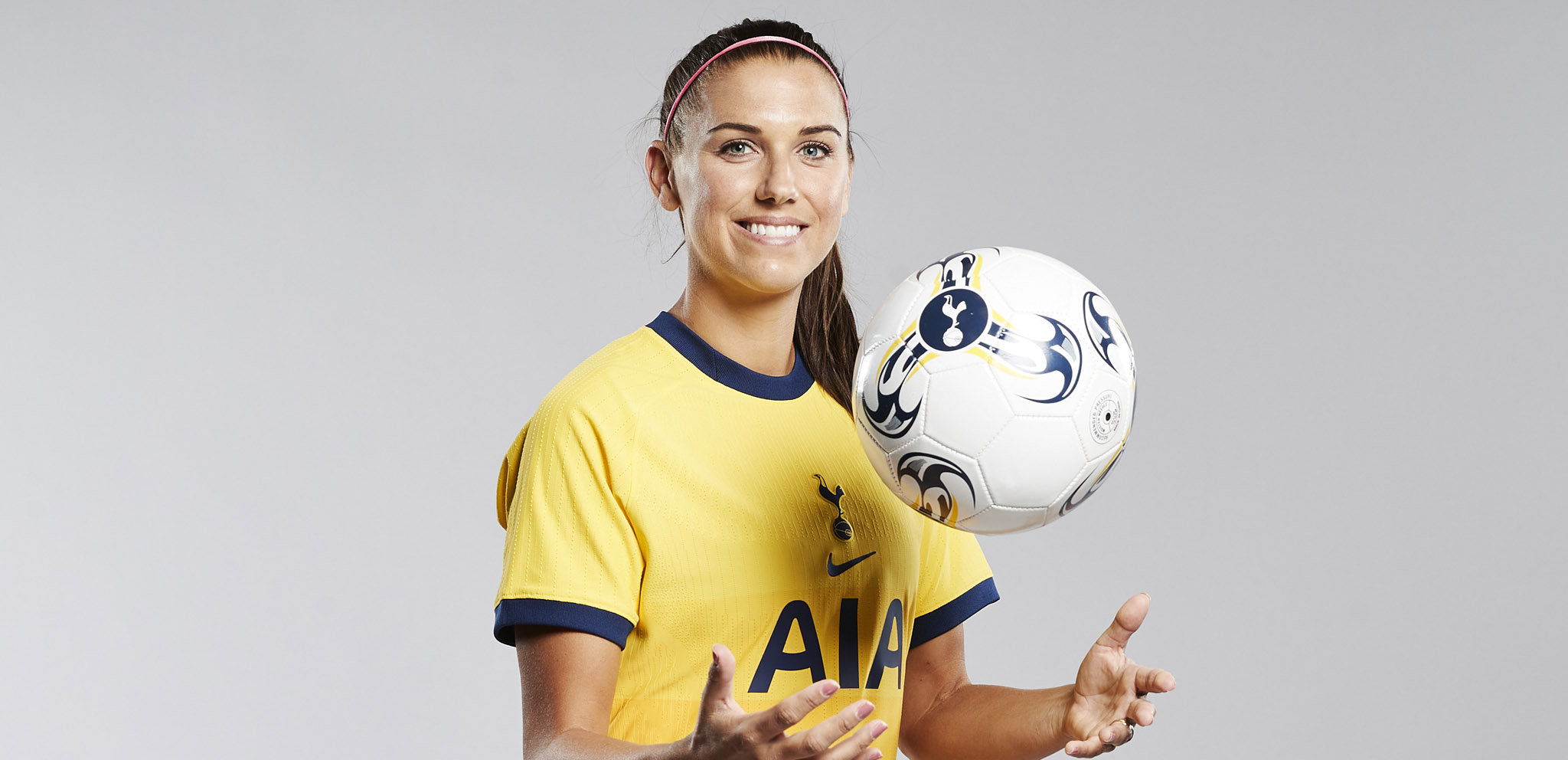 Exclusive Alex Morgan On Joining Spurs Tottenham Hotspur